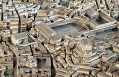 A new model in the Museo della Civiltà Romana restores Trajan's forum based on the most recent excavations in central Rome ...