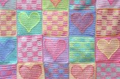 crochet baby blanket patterns free - Google Search