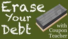 Erase Your Debt With Coupon Teacher