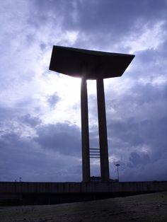 Monumento aos Pracinhas -segunda guerra mundial no Aterro do Flamengo RJ.