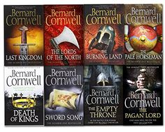 Download free Bernard Cornwell Warrior Chronicles Series 8 Books Set (The Pagan Lord Death of Kings The Lord of the North Sword Song The Burning Land The Pale Horseman The Last Kingdom The Empty Throne) pdf