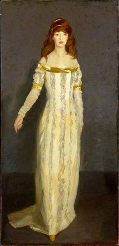 The Masquerade Dress Robert Henri 1911