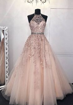 High Neck Pink Lace Prom Dresses, Pink Lace Formal Evening Graduation Dresses Related posts:Simple White Scoop High Slit Satin Prom Dresses Long Cheap Prom Gowns White Chiffon Lace Appliques Wedding Dress,Off Shoulder Spaghetti. Pretty Prom Dresses, Pink Prom Dresses, Quinceanera Dresses, Ball Dresses, Graduation Dresses, Homecoming Dresses, Cute Dresses, Beautiful Dresses, Formal Dresses