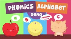 It's a phonics song with a picture for each letter! This animated phonics song will help children learn the sounds of the letters in the English alphabet.  #abcsongs