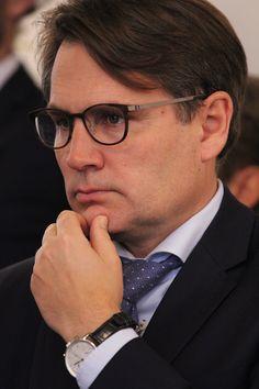 Erhvervsminister Brian Mikkelsen (K) fotograferet til reception hos Netcompany