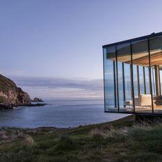 Seascape Retreat: Architect: Pattersons Associates Architects Location: South Island of New Zealand Area: 176m2