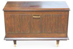 French Art Deco Macassar   Cabinet