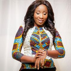 Naa Ashorkor in 10 of her most stunning African print outfits