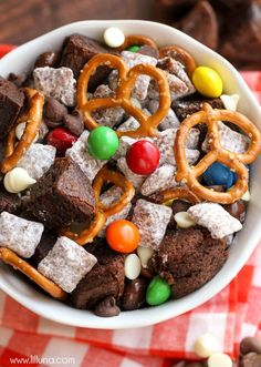 Brownie Puppy Chow M
