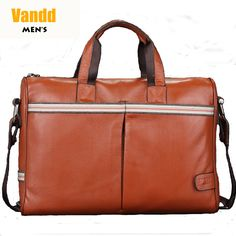 Aliexpress.com : Buy Vandd Men's Yellow Genuine Leather Zip Tote Handbag Shoulder Messenger Bag Designer New from Reliable eyebrow piercing shop suppliers on Vandd Men. $82.00