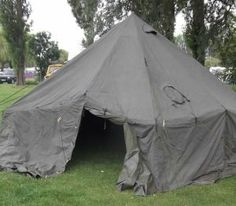 Army 10 Man Arctic Military Bell Tent