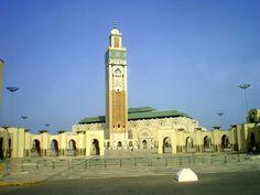 Marrocos-Casablanca:Mesquita Hassan II