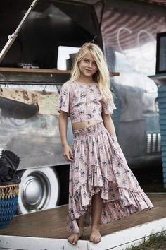 54750ca9e42 Saffron skirt and top -(two piece design) Dresses For Tweens
