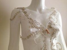 Vintage glam wedding veil