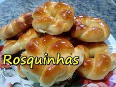 Rosquinhas Caseiras Bem fofinhas (por Fernando Couto) - YouTube