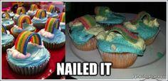 Epic Pinterest Fails....  Let's Make Cupcakes!!