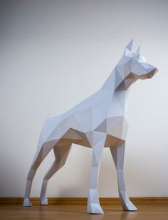 A doberman papertrophy is just what you need to keep your home looking amazing! #HappyHome