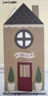Housewarming card using Wild Card
