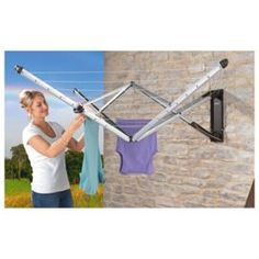 Buy Brabantia Wall Fix Airer from our Washing Lines & Pegs range - Tesco
