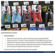 the gorilla one says GOD'S HAND i'm dying rn of laughter