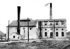 Estação Rodoferroviária de Curitiba - Antiga Usina elétrica do Capanema,  Atual Rodoferroviária de Curitiba