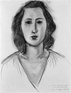 Portrait of Marguerite Maeght, 1944