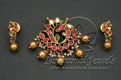 Tiraa by Tibarumal Jewels Gold Earrings Designs, Gold Jewellery Design, Silver Jewellery, Jewelry Model, Temple Jewellery, Jewelry Patterns, Indian Jewelry, Wedding Jewelry, Antique Jewelry