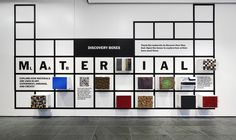 Project: Material Lab  Project Team: Julia Hoffmann (creative direction), H.Y. Ingrid Chou (art direction and design), Amanda Pastenkos (design), Lyanne Dubon (intern)