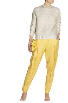 Stella McCartneyArmand wool and silk-blend tapered pantsoutfit