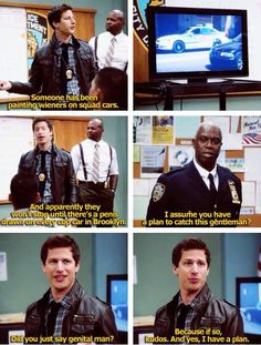 Brooklyn Nine-Nine...my new favorite show! It is absolutely hilarious! http://ibeebz.com
