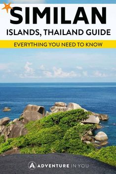 Similan Islands Thailand   Planning a trip to the Similan Islands? Whether you want to go on a liveaboard or just a day trip, take a look at our complete travel guide #similanislands #liveaboard