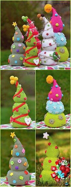 The Stitching Mommy: Crochet Amigurumi Christmas Tree Pattern