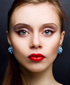 Lip Color Application