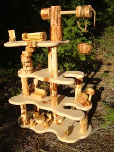 doll tree house- Would Poppy make this for D? :-D