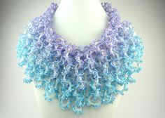 SturdyGirlDesigns| Etsy | designed by Shelley Nybakke, made by Shona Bevan | Until I Can Breathe Again necklace | peyote stitch, seed bead and 3mm