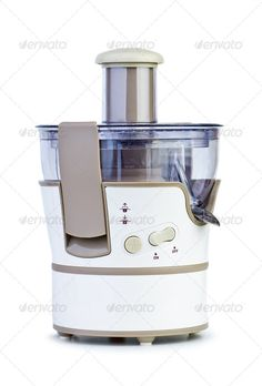 Buy Electrical juicing machine by digitalr on PhotoDune. Electrical juicing machine isolated on the white background Citrus Juicer, Juicing, Author, Search, Juice, Searching, Writers