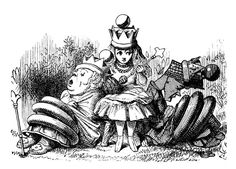 """""""A través del espejo"""", la segunda aventura de la Alicia de Lewis Carroll. Un mundo especular e invertido. La concepción del mundo del espejo como una partida de ajedrez. Juegos y lógica en la obra de Carroll."""