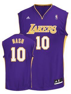 d1bf51c4b Compare prices on Steve Nash Lakers Replica Jerseys and other Los Angeles  Lakers memorabilia. Save money on Lakers Steve Nash Replica Jerseys by  browsing ...