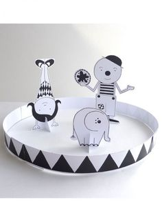 Paper circus kit by lovely pigeon...