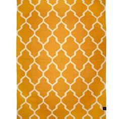 Tangier Ullmatta Honeygold 200 x 300 cm - Classic Collection - Dennys Home