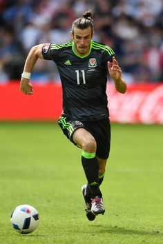 Gareth Bale of Wales in action at Euro 2016.