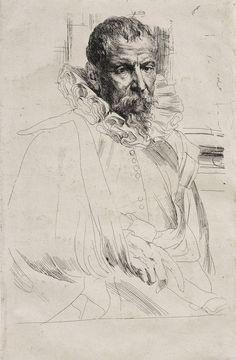 Franz Hals, portrait de Breughel le Jeune