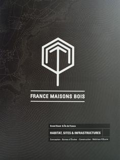 FRANCE MAISONS BOIS by chattermark , via Behance