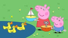 Peppa Pig Drawing & Painting Peppa at Duck Land Coloring Book & Colors For Kids Children Peppa Halloween, Halloween Birthday, Halloween Kids, Dinosaur Surprise Eggs, Coloring For Kids, Coloring Books, Peppa Pig Drawing, Dinosaur Videos, Abc Alphabet