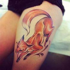 Beautiful fox tattoos!!!
