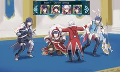 The raptor scene from the latest fire emblem park: attack on robin.