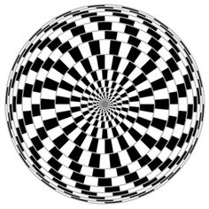 Vector spiral optical illusion in white background Illusion Kunst, Illusion Art, Op Art, Funny Optical Illusions, Illusion Pictures, Sacred Geometry, Textures Patterns, Black And White, Google Search