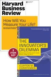 """The Innovator's Dilemma with Award-Winning Harvard Business Review Article """"How Will You Measure Your Life?"""" ebook by Clayton M. Christensen"""