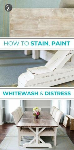 How to Paint Stain Whitewash 038 Distress a Fancy X Farmhouse Table by Ana White. How to Paint Stain Whitewash 038 Distress a Fancy X Farmhouse Table by Ana White Learn how to DIY p Farmhouse Table Plans, Farmhouse Kitchen Tables, Farmhouse Furniture, Rustic Furniture, Farmhouse Decor, French Farmhouse, Farmhouse Ideas, Farmhouse Style, Modern Farmhouse