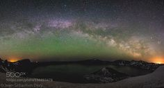 Milky Way Over Crater Lake  Camera: NIKON D3300 Lens: 11.0-20.0 mm f/2.8 Focal Length: 11mm Shutter Speed: 25sec Aperture: f/2.8 ISO/Film: 3200  Image credit: http://ift.tt/1sSD2NF Visit http://ift.tt/1qPHad3 and read how to see the #MilkyWay  #Galaxy #Stars #Nightscape #Astrophotography